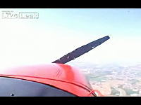 何がおこったww飛行中にまさかのプロペラ停止!そして奇跡のリスタート!