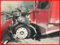 合流Uターンは自殺行為(@_@;)ドライブレコーダーが捉えた衝撃の事故映像
