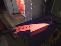 職人動画。カスタムナイフの作り方。世界に一本だけ。手作りのオリジナル。