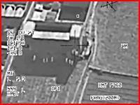 13人のタリバンを一発のミサイルで仕留めるイギリス軍 リアル映像注意