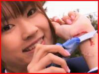 リストカット専用カッターナイフ!?日本のちょっとブラックなコマーシャル映像