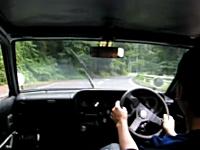 約40年前のスズキの車がイイ音すぎる。フロンテクーペ。2ストローク3気筒。