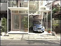 チャレンジャーすぎる家。東京にあるというスケスケ住宅が凄い動画。新建築