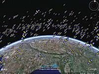 宇宙ヤバイ。地球の周りに衛星多すぎワロタwwwその数13000個!な動画