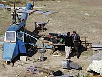 自国防衛の為に立ち上がった59歳のイラク人。自作の攻撃ヘリで国を守る。
