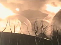 海上保安庁が公開した石油コンビナート爆発の消火活動の映像 コスモ石油