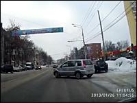 世界のドラレコ。雪道では急に止まれまい2連発。ロシアと2連続コースアウト