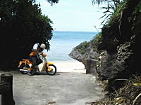 こんな旅も素敵だな動画。リトルカブで沖縄一周の旅をしてみた。シャラララ♪