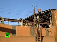 ロシアの隕石速報。破片の直撃を食らった工場が見るも無残な姿に。動画像