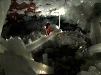 アンビリーバボー 幻想的な結晶洞窟に潜入した奇跡の洞窟映像