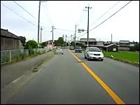 80代のおばあちゃんが危険運転すぎるドラレコ動画。もう運転するなよ・・・。