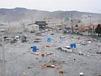 全てを飲み込む大津波。気仙沼市を襲った最初の大津波を撮影した動画