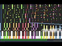 Synthesiaの神動画。シンセシアでデスワルツしたった動画。これはむずい。