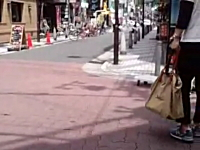 心斎橋殺人。大阪通り魔事件の事件現場の様子がYouTubeにアップされる