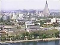 北朝鮮の街並み紹介ビデオにまさかの日本語Windows 2003年の首都・平壌市の町並み