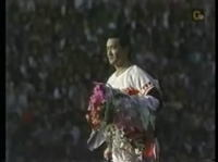 1974年長嶋茂雄(巨人)引退セレモニー