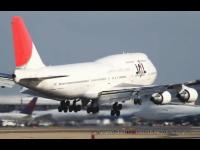 成田空港でB747が着陸をやり直す大迫力映像+1000mgのパソコンが死にました