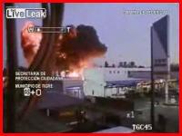 死亡事故の瞬間 監視カメラが捉えた飛行機の墜落映像 アルゼンチン
