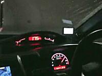 逮捕されればいいのに。一般道をシビックタイプRで175km/h。証拠動画。