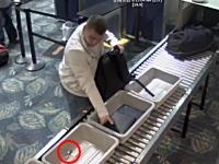 空港の保安検査場で前の客が忘れた6500ドル相当のロレックスを盗んだ男