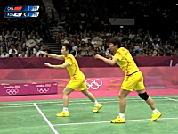 これは失格にもなるわ。中国対韓国のバドミントンの試合があまりにも酷い。