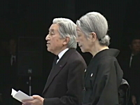 東日本大震災追悼式典で述べられた天皇陛下のお言葉。4分半(フル動画)
