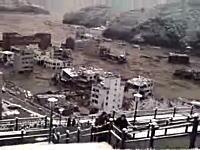今回の津波で甚大な被害を受けた宮城県女川町の津波の動画がアップされる