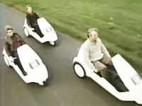 30年前にイギリスで販売された電気自動車が未来だった。シンクレアC5。