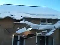 雪下ろしが雪崩になってやたらハイテンションwwwwwうるせえwwwww