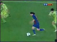 サッカーの神プレイ