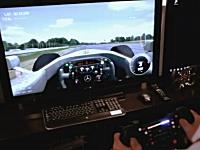 これは欲しい。新しく発売予定のレーシングコントローラーがリアルで凄い。