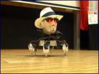 とっても奇妙なダンシングロボット