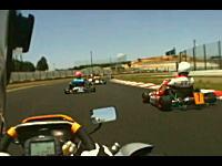 これは楽しそう。スーパーカートで鈴鹿本コースの車載映像 ミッションカート