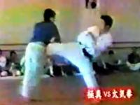 極真空手vs太気拳 ガチンコ交流会 松井館長vs太気拳もあり
