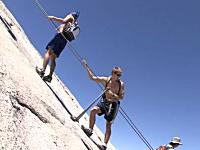 足を滑らしたら120M落下。ヨセミテ公園のハードなハイキング「ハーフドーム」