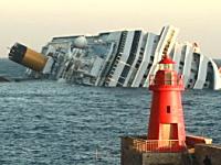 イタリアの豪華客船コスタ・コンコルディア号が座礁。少なくとも6名が死亡。