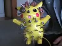 これは酷いwwwピカチュウを楽器にしてみました動画wwwキモイwww