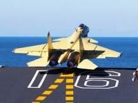 動画キタ。中国海軍が空母「遼寧」で艦載機「殲15」の離着艦訓練に成功。