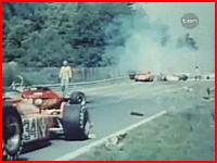 ニキ・ラウダが大やけどを負った悲惨の事故の映像 F1ドイツGP(1976年)