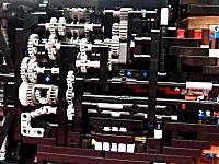 レゴで本気のブガッティ・ヴェイロンを作ってみたよ ギアボックス・可変リアスポ他