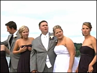 結婚式の記念撮影で悲惨なアクシデントが発生wwwでも良い記念になった。