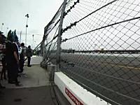 デイトナ500速すぎワロタwww3秒半で43台のNASCARが目の前を通り過ぎる