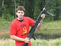 FPSロシアの鉄砲撃ちまくりっぷりが凄いwwwww何者だよこいつはwwwww