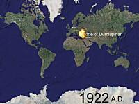 1900年代戦争しすぎ。世界中で起きた過去1000年間の戦争を5分間で見る