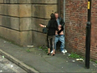 G●●gleストリートビューに手●●している男女の姿が撮影され話題にwww