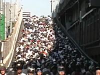 ( ゚д゚)ポカーン 台湾の通勤ラッシュヤバすぎワロタwwwその2。そらマスク要るわ