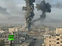 イスラエル軍によるガザ空爆の映像が凄い+アイアンドームの大迫力映像