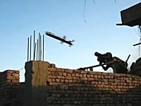 グングン動画。ジャベリンミサイルの実戦使用ビデオ。標的はタリバンの建物