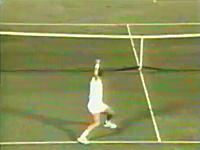 テニス奇跡動画。必殺真空ロブ返しが決まった瞬間。ウインブルドン1996
