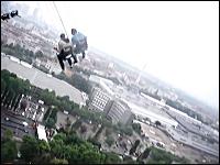 オーストリアのウィーンにある世界最大の回転ブランコが高すぎて怖いwww
